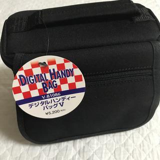 【新品・未使用】デジタルハンディバッグ