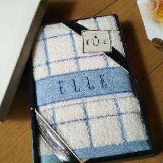 ◆ ELLE フェイスタオル ◆ギフト新品