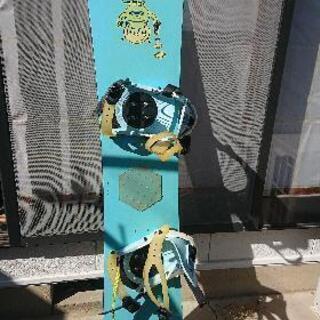 スノーボード 138cm、バインディング