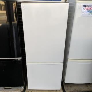 2018年製 2ドア冷蔵庫【AQUA】184L(安心の3ヶ…