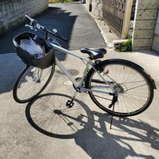 買い換えたので、シマノ製7段変速紳士自転車売ります。