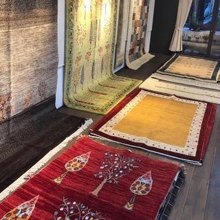 岩手県・盛岡/専門店が選ぶイランの遊牧民の極上絨毯 ギャッベ展