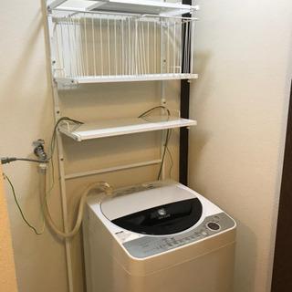 洗濯機 シャープES-FG55F 2007年製 5.5 洗濯機の...