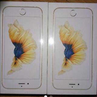 値下げ可♪未開封☆iPhone 6s Gold 32 GB UQ...