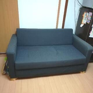 IKEA SOLSTA ソファーベッド 使用感あり