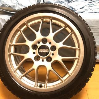BBS17インチホイールとタイヤのセット