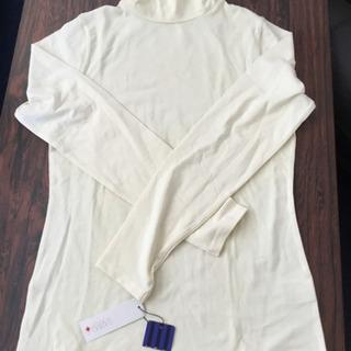 【新品未使用】ハイネック  シャツ  Mサイズ