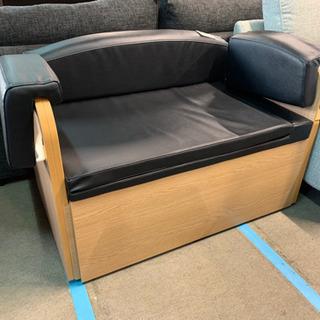 未使用 ソファ 簡易ベッド 引き出し収納つき
