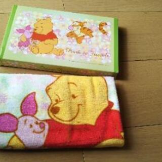 ◆ Pooh & Friends フェイスタオル ◆