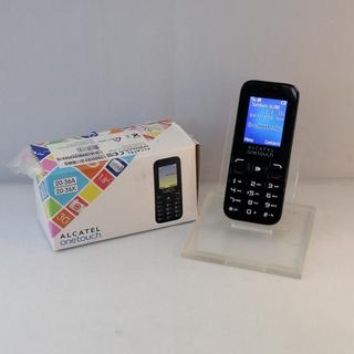 SIMフリー 3G携帯電話 海外旅行向け (Alcatel 20...