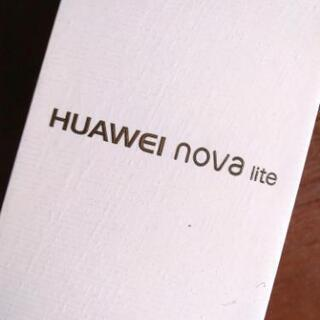 【7800円】送料込 HUAWEI nova lite  16G...