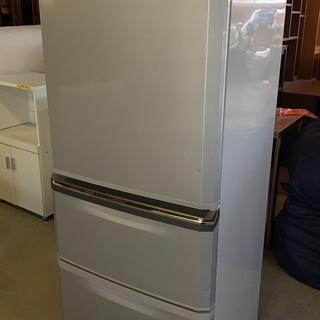 三菱 3ドア冷蔵庫 335L 2010年