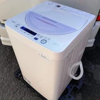 ◼️美品◼️2017年製◼️シャープ 全自動洗濯機(5.5kg)...