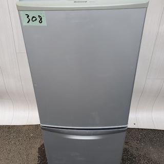 308番 National✨ノンフロン冷凍冷蔵庫❄️NR-B14...