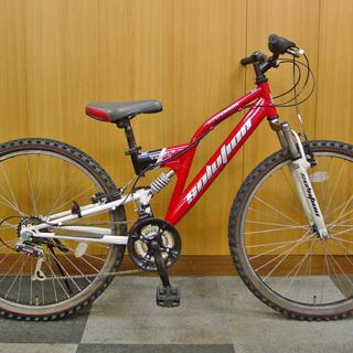 中古 26インチ子供用自転車 マウンテンバイクルック