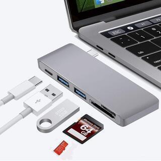 新品未使用 USB C ハブ 1台5役 usb ハブ HDMI出...