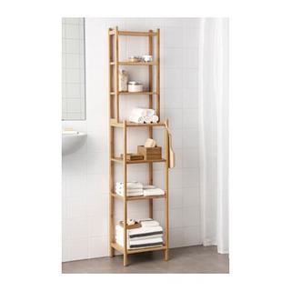 IKEA  万能ユニットシェルフ 竹素材