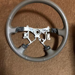 トヨタ  ハイエース 200系  革巻きステアリング