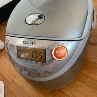 《決まりましたので終了》炊飯器 東芝 3.5合だき − 北海道