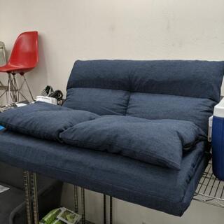 座椅子にもベッドにもなる2タイプ ソファベッド【展示品☆美品】