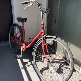 [お渡しする方決まりました]ジャンク品です!無印良品のオーダー自転車