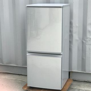 格安で!シャープ冷蔵庫◇137L◇SJ-14Y-S◇2014年製...