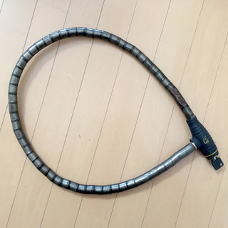 自転車 ロック 鍵 黒