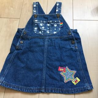 デニムジャンパースカート 95-105