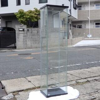 イケア ガラス コレクションケース コレクション棚 収納棚 飾り棚 ①