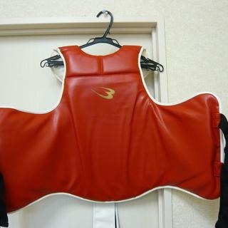 ボディメーカー ボディプロテクター ハードモデル 赤 白  札幌...