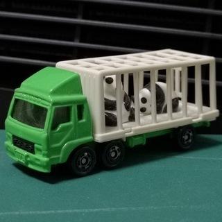 絶版トミカ №76-4 三菱ふそう 動物運搬車(パンダ)