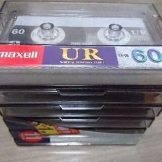 カセットテープ60分6本