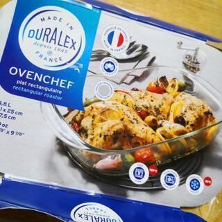 新品⋅未使用 デュラレックス 耐熱オーブン皿☆フランス製