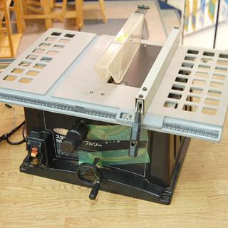 LUDMAX テーブルソー 本体のみ TBS-255CⅡ 回転確...