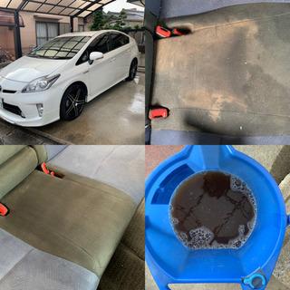 車の内装クリーニング  シートクリーニング