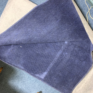 紺のカーペット