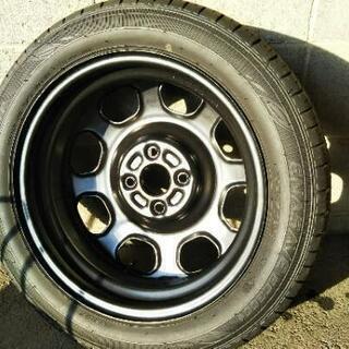 (新車取り外し)ハスラーGのホイール&タイヤ4本セット(1本売り可)