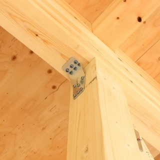 これから家を建てる方必見!今しか見れない構造見学会開催。