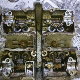 スズキ GSX250E ザリ シリンダーヘッド中古品