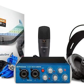 DTMパッケージ Presonus AudioBox 96 St...