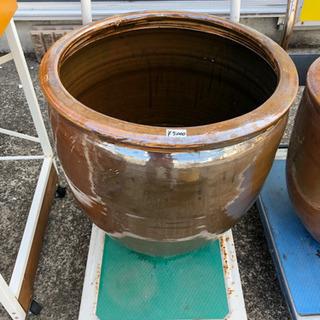 漏れ・割れなし◆大型◆水甕◆壺◆メダカや水蓮鉢、傘立てとして◆直...