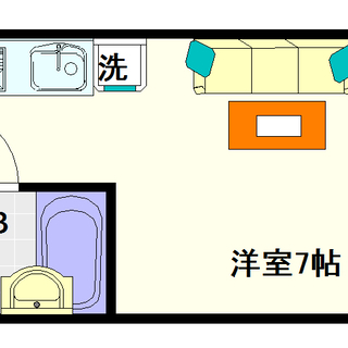 【スペース難波】4号タイプ!1Rタイプ!ヲタロードど真ん中!