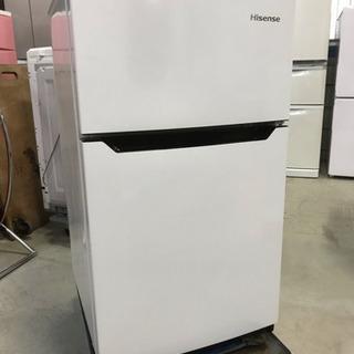 キズ、凹みあり激安!ハイセンス 2ドア冷凍冷蔵庫 HR-B95A...
