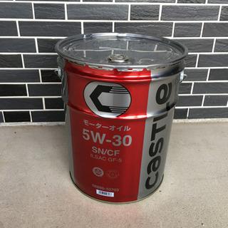 新品 エンジンオイル 5w30 20リットル ペール缶