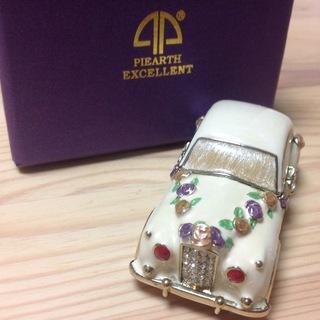 ✴︎宝石箱✴︎ハネムーンカー✴︎ピィアース ジュエリーボックス