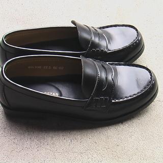 女子通学革靴