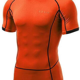 半袖 ラウンドネック スポーツシャツ  メンズXL(新品未使用)