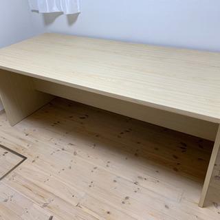 180cm幅のオフィス デスク 机 テーブル ナチュラル 木