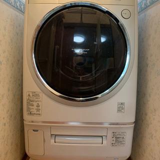 【TOSHIBA】冷暖房付き!ドラム式洗濯乾燥機 TW-3000VE