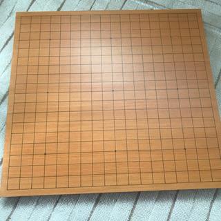 天然木一寸碁盤、蛤と黒曜石の高級碁石セット 囲碁セット